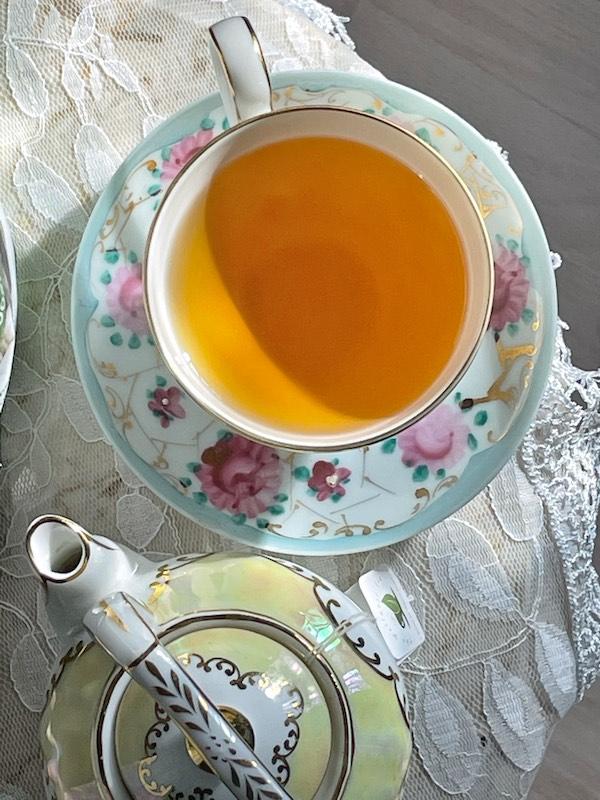 the Wellness Tea brewed