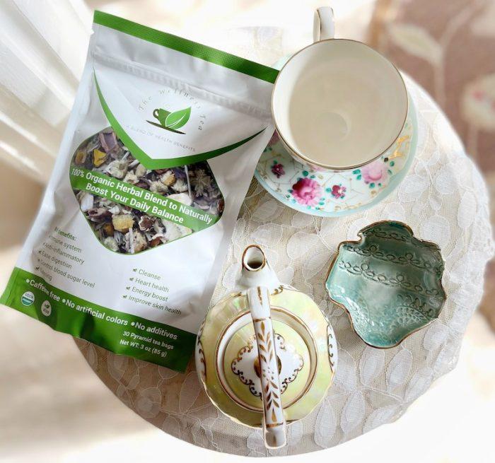 The Wellness Tea table