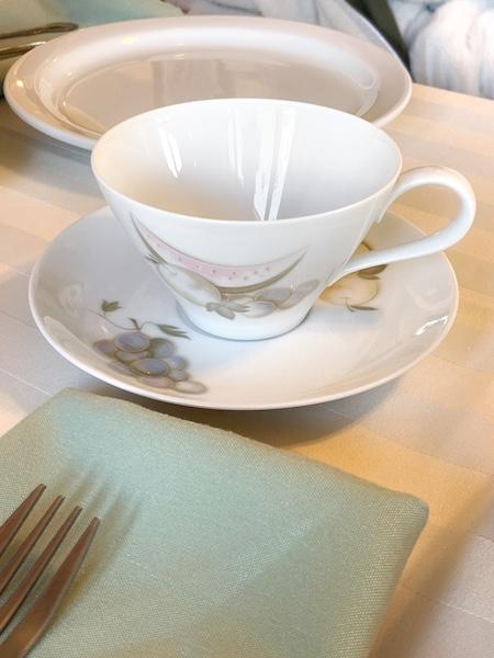 teacup at Afternoon Tea at Auntie Rae's Dessert Island in Utah