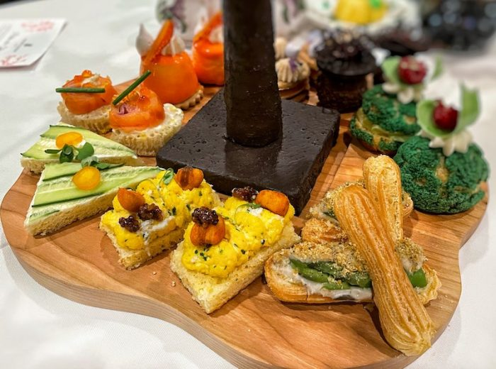 tea sandwiches at afternoon tea at The Ritz-Carlton Atlanta