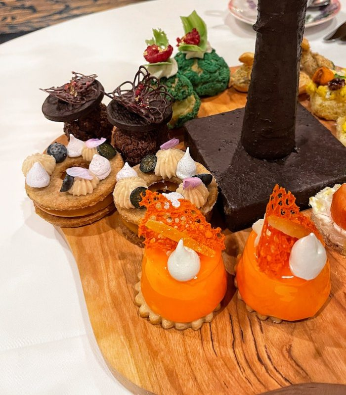 dessert course at afternoon tea at The Ritz-Carlton Atlanta
