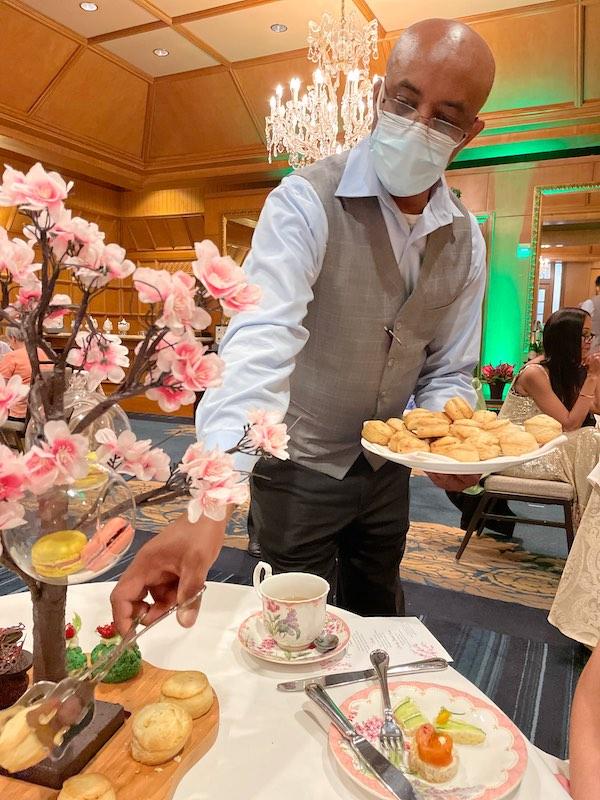 scones at afternoon tea at The Ritz-Carlton Atlanta