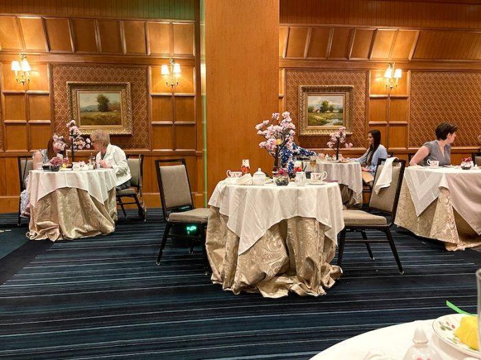interior afternoon tea at The Ritz-Carlton Atlanta