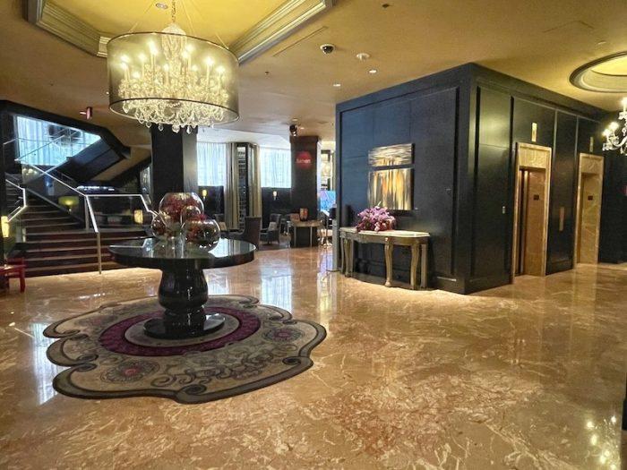 lobby at afternoon tea at The Ritz-Carlton Atlanta