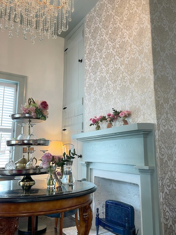 tearoom at The Ginger Room in Alpharetta, Georgia