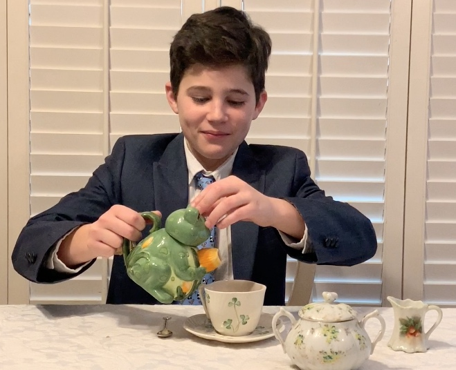 afternoon tea manners