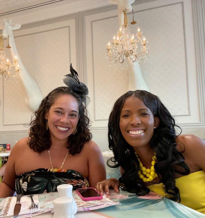 tea friends at Pani in Aventura Mall, Florida