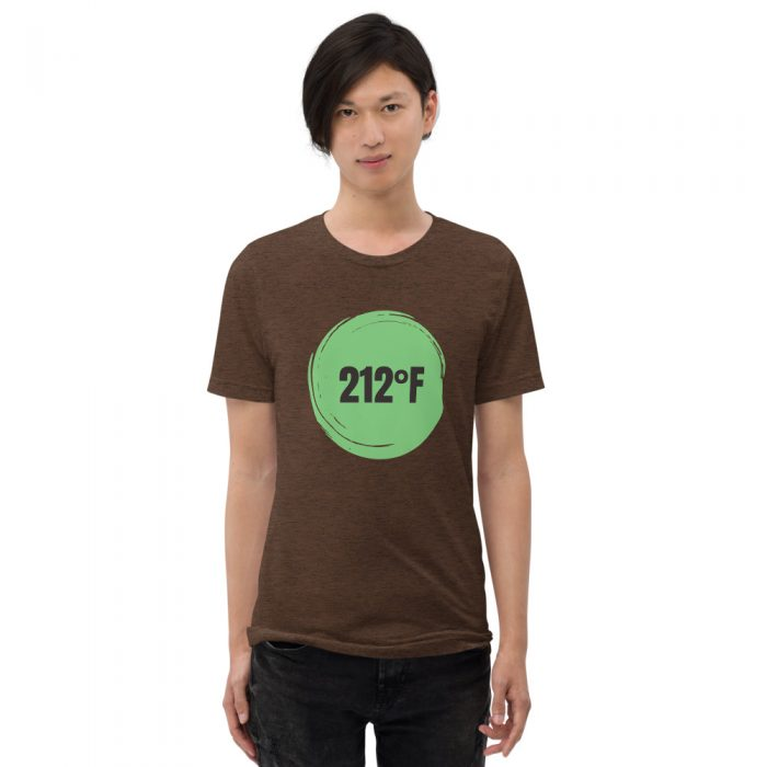 212 degrees tea shirt by Destination Tea