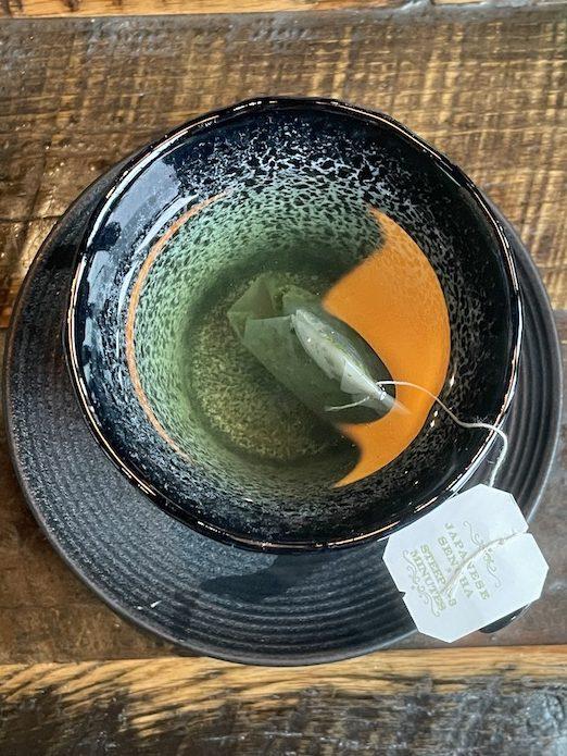 Harney & Sons Japanese Sencha in a tea bag at Fudo in Chamblee, GA