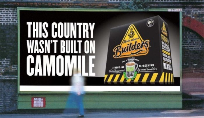 Make Mine A Builders advertisement