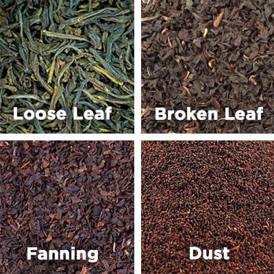 Loose leaf tea vs. fanning and dust