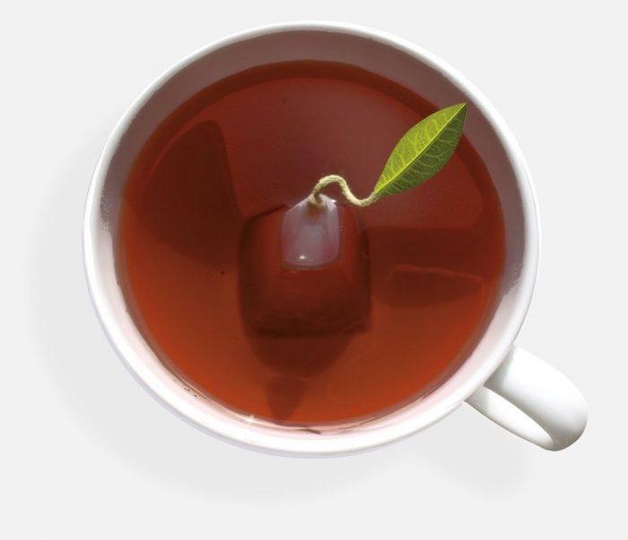 Tea Forte tea bag pyramid