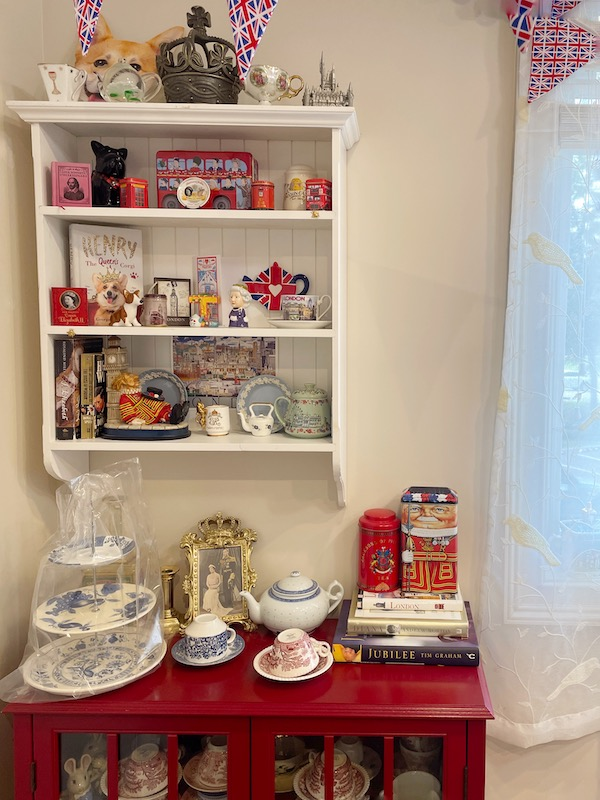 British display afternoon tea at The Book & Bee Cafe & Tea in Hendersonville