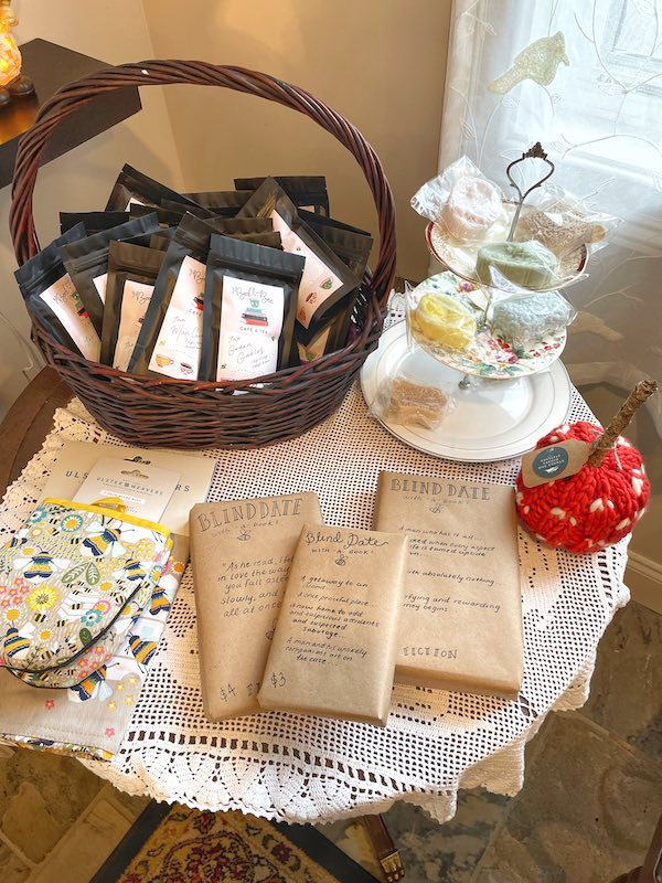 locally made gifts at The Book & Bee Cafe & Tea in Hendersonville